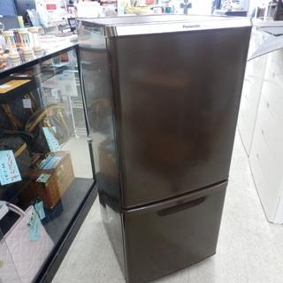 パナソニック 137L冷蔵庫 2014年製 NR-8146W ブ...