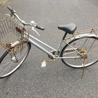 (chariyoshy 出品)27インチ 6段ギア 自転車