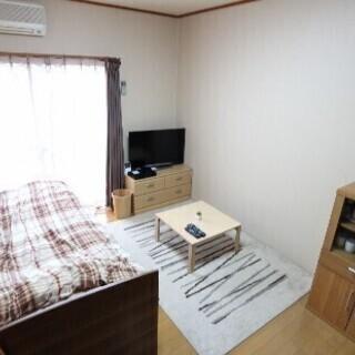 【初期費用は5万円と日割り】香椎の家具家電付きの珍しい1K見つけ...