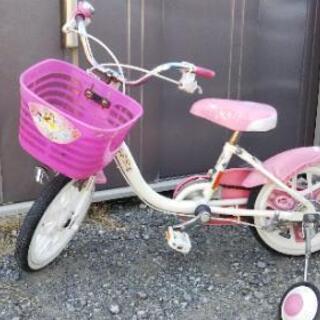 【商談中】女の子用自転車
