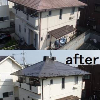 \栃木在住の方必見!!/戸建て住宅の外壁、屋根、雨どいなどの点...