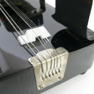 PEACOCK HARP ピーコックハープ 大正琴 蒔絵 ピック 弦 ハードケース 付属 ① - 売ります・あげます