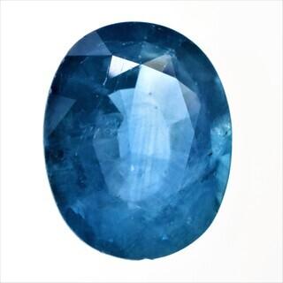 宝石ソーティング付き 天然 ブルーサファイア 2.203ct ル...