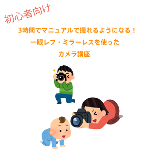 【西尾市・3月13日】3時間でマニュアルで撮れるようになる! 一...