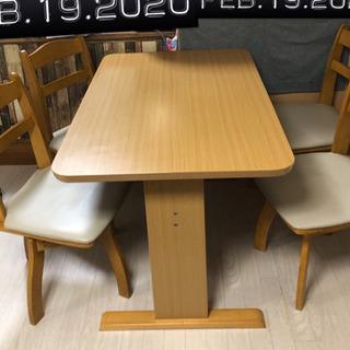 ダイニングテーブル椅子4脚セット