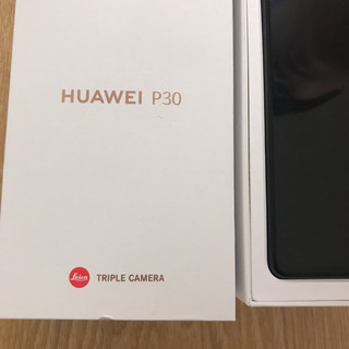 値下げ 新品 HUAWEI P30 未使用