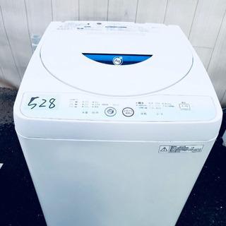 528番 SHARP✨全自動電気洗濯機⚡️ ES-GE55L-A‼️