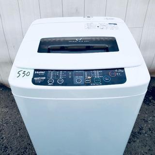530番 Haier✨全自動電気洗濯機⚡️ JW-K42F‼️