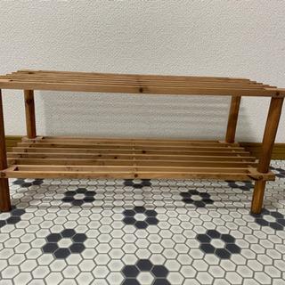 ウッドシェルフ 木製棚