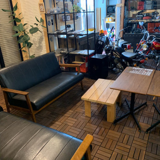 carcraftkustom カフェスペース