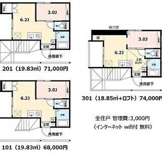 新築物件特集!賃料、初期費用どこよりも安くします。S032