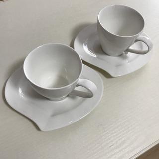 コーヒーカップ2客