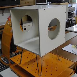 シェルフ 多目的BOX 折りたたみ脚付き 飾り棚 ディスプ…