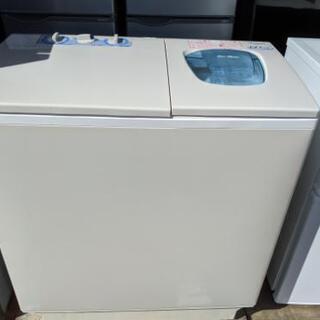 【新品・未使用】  日立 2層式洗濯機 6kg 2014年製 P...