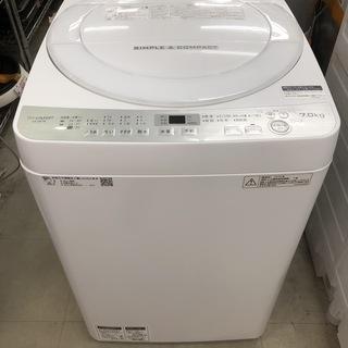 【リサイクルショップどりーむ荒田店】839 洗濯機 シャープ E...