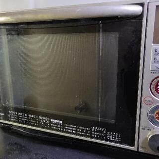 東芝er-d7 TOSHIBA電子オーブンレンジ ジャンク温まらない。
