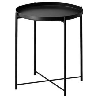 IKEA トレイテーブル GLADOM グラドム 黒