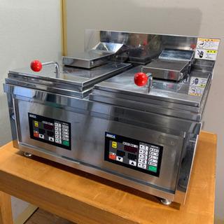 MACH/マッハ機器 業務用 餃子焼き器 三相200V 店舗 厨...