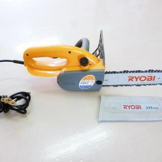 ★RYOBI 電気チェンソー CS-2500 刃225mm ハー...