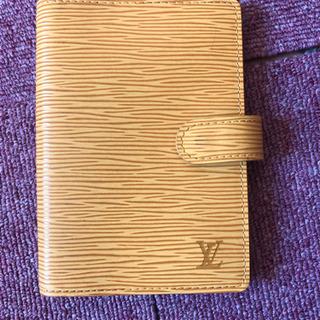 ルイヴィトンの手帳 エピ