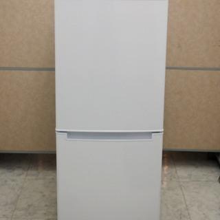美品 ニトリ 106リットル 2ドア ノンフロン冷凍冷蔵庫 グラ...