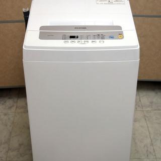 美品 アイリスオーヤマ 5kg 全自動洗濯機 IAW-T502E...