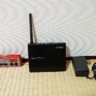 LAN非対応のUSB機器を直接LANに繋げばみんなで使えるってヤツ