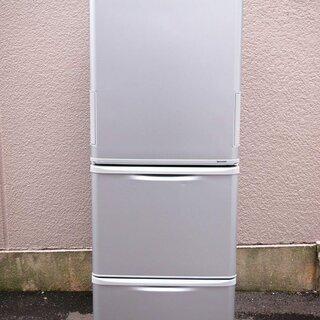SHARP シャープ 350リットル 3ドア 冷蔵庫 どっちもド...