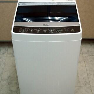 美品 ハイアール Haier 簡易乾燥機能付洗濯機 5.5kg ...