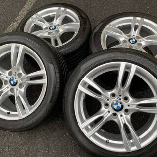BMW純正スタースポーク400M 18インチ 3シリーズグランツ...