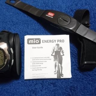 16.mio (ミオ)Energy Pro / 心拍計 / 指タ...