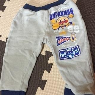 アンパンマンの冬用パンツ.ズボン