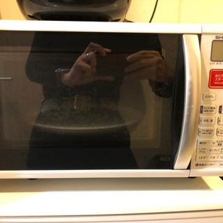 冷蔵庫、電子レンジあげます。