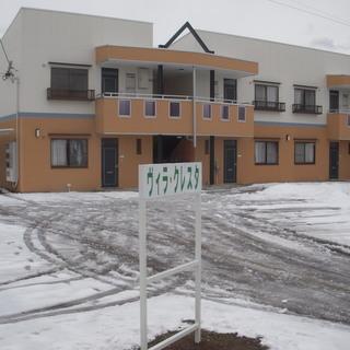 南向きの広い2DKアパートです。北側和室を洋室へ変更も無料で承ります。