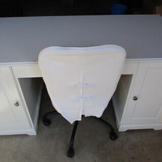 デスク・椅子セット 65㎝×145.5㎝ 高さ74㎝