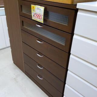 0221-03 6段チェスト 収納棚 衣類収納 80×39…