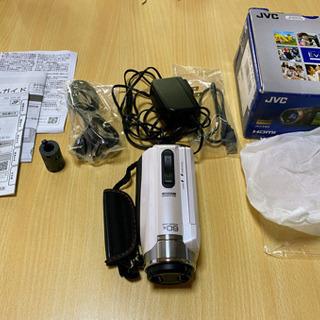 【ネット決済】ビデオカメラ Victor・JVC GZ-F200-W