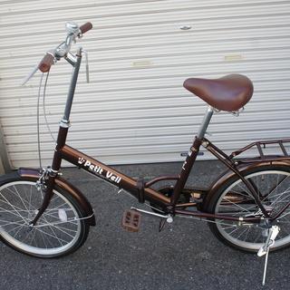 20インチ折り畳み自転車!奇麗をお譲ります!