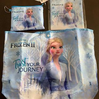アナと雪の女王 エコバッグ ポーチ 巾着 新品 未使用