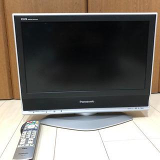 2007年モデル パナソニック 20インチ液晶テレビ 作動良好!