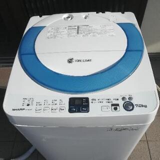 SHARP 全自動洗濯機【たっぷり7キロ】
