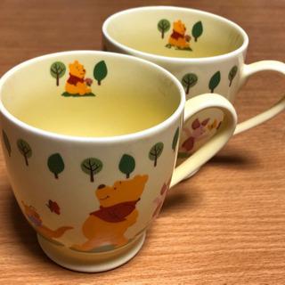Disney くまのプーさん マグカップ 2個 (中古品)