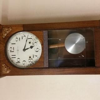 緊急出品!☆昭和レトロ♪《セイコーシャ製製ゼンマイ式壁掛け時計》