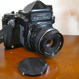 希少 ASAHI PENTAX 中判フィルムカメラ 6×7 レン...