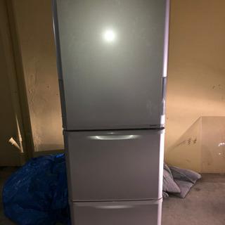 シャープ製 冷凍 冷蔵庫 型式SJ-W351D-S