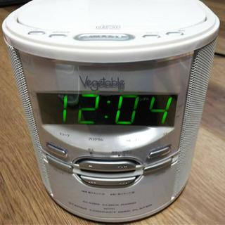 取引中 CDプレイヤー付き時計