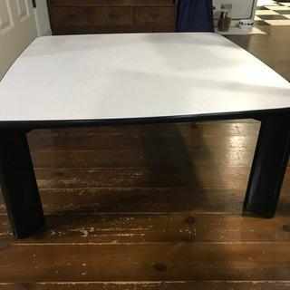 正方形 こたつテーブル 75×75 - 売ります・あげます