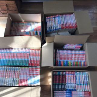 マンガ800冊以上。2/22.23.24に引き取り出来る方へ。