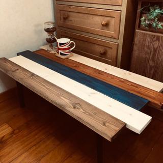 お洒落家具 センターテーブル 折り畳み 新品未使用