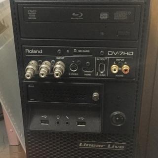 Roland、ローランド、ビデオ・ワークステーション DV-7H...